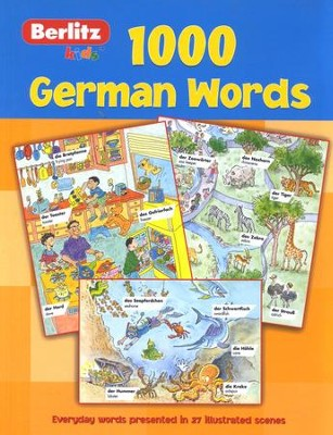 1,000 German Words   -