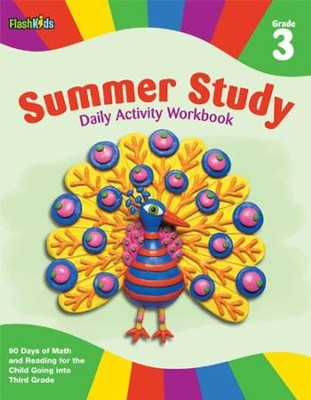 Summer Study Daily Activity Workbook: Grade 3  -     By: FlashKids