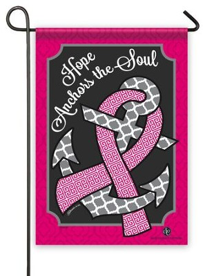 Hope Anchors the Soul Flag, Small  -