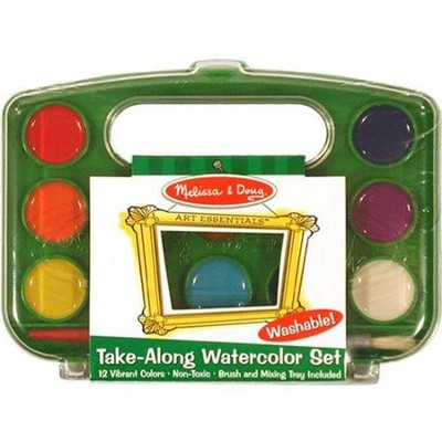 Take-Along Watercolor Set  -     By: Melissa & Doug