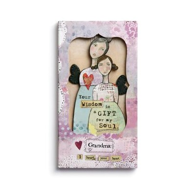 Grandma Ornament Card  -     By: Kelly Rae Roberts