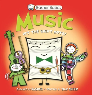 Basher Books Basics: Music  -     By: Simon Basher