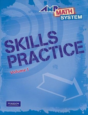 AMP Math System Skills Practice Workbook Volume 1, Level 3  -