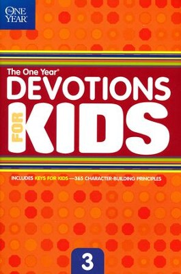 The One Year Book of Devotions for Kids #3   -