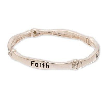 Words of Faith, Faith Stretch Bracelet  -