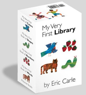 My Very First Books (boxed set)  -     By: Eric Carle