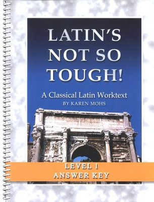Latin's Not So Tough! Level 1 Full Text Answer Key   -