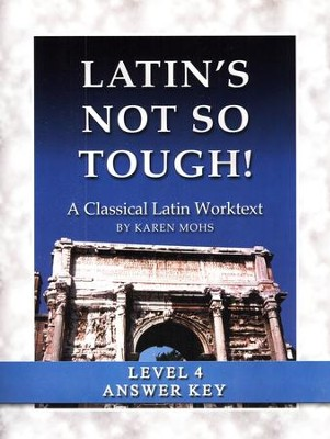 Latin's Not So Tough! Level 4 Full Text Answer Key   -