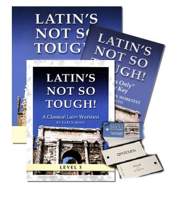 Latin's Not So Tough! Level 3 Short Workbook Set   -