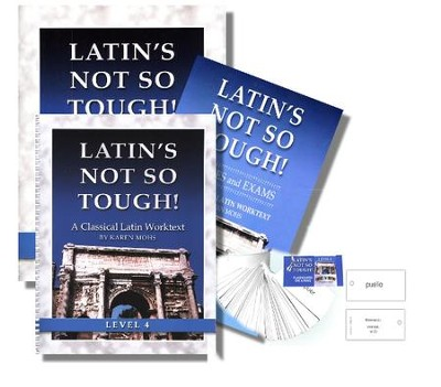 Latin's Not So Tough! Level 4 Full Workbook Set   -