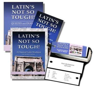 Latin's Not So Tough! Level 6 Short Workbook Set   -