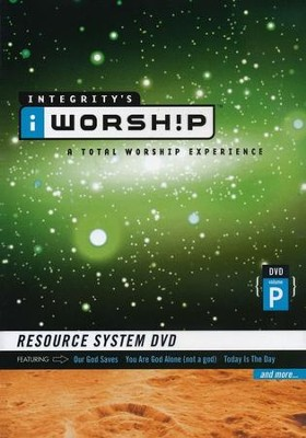 iWorship Resource System DVD, Volume P   -