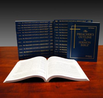New Testament Set, 14 Vols [The Preacher's Outline & Sermon  Bible, KJV]  -