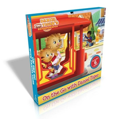 On The Go With Daniel Tiger! Boxed Set, 6 Volumes  -     By: Various Authors & Illustrators