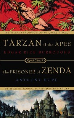Tarzan of the Apes and the Prisoner of Zenda - eBook  -     By: Edgar Rice Burroughs