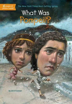 What Was Pompeii? - eBook  -     By: Jim O'Connor     Illustrated By: Fred Harper, John Hinderliter