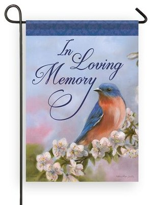 In Loving Memory Flag, Small  -     By: Victoria Schultz
