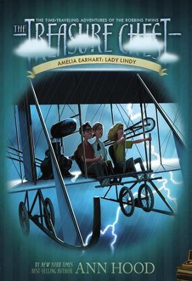 Amelia Earhart #8: Lady Lindy - eBook  -     By: Ann Hood     Illustrated By: Denis Zilber