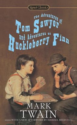 The Adventures of Tom Sawyer and Adventures of Huckleberry Finn - eBook  -     By: Mark Twain