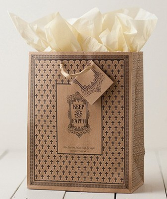 Keep the Faith Gift Bag, Medium  -