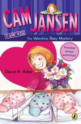 Cam Jansen: Cam Jansen and the Valentine Baby Mystery #25 - eBook  -     By: David A. Adler     Illustrated By: Susanna Natti