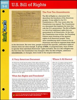 U.S. Bill of Rights FlashCharts  -     By: Kathy Furgang