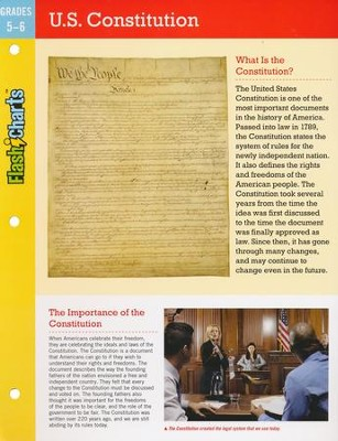 U.S. Constitution FlashCharts  -     By: Kathy Furgang