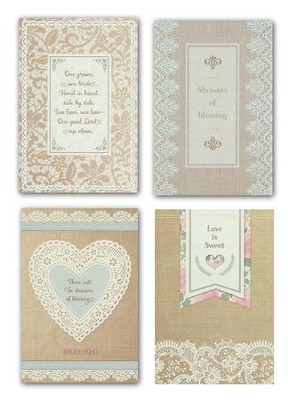Wedding Shower With Blessing, Boxed Cards  -
