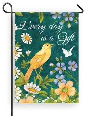 Every Day is a Gift Flag, Small  -     By: Joy Hall