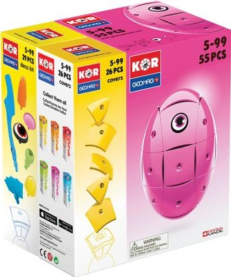 GEOMAG Pink KOR with Yellow Covers Bundle   -