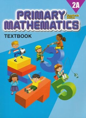 Primary Mathematics Textbook 2A (Standards Edition)   -