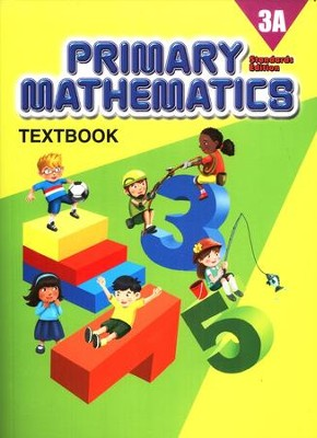 Primary Mathematics Textbook 3A (Standards Edition)   -