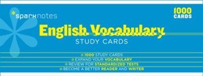 English Vocabulary SparkNotes Study Cards  -     By: SparkNotes
