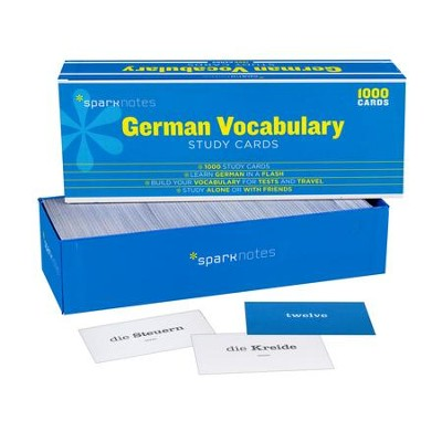 German Vocabulary SparkNotes Study Cards  -     By: SparkNotes