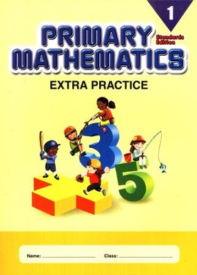 Extra Practice (Standards Edition) for Primary Math 1   -