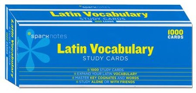 Latin Vocabulary SparkNotes Study Cards  -     By: SparkNotes