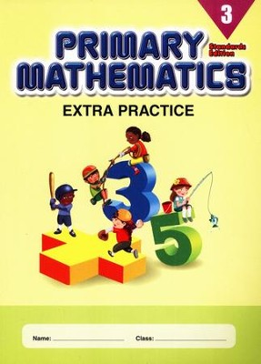 Extra Practice (Standards Edition) for Primary Math 3   -
