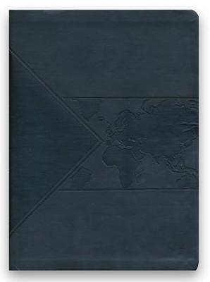 ESV Global Impact Bible, Charcoal Leatherluxe  -