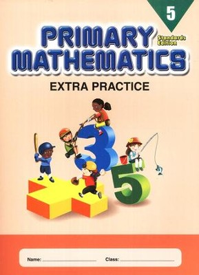 Extra Practice (Standards Edition) for Primary Math 5   -