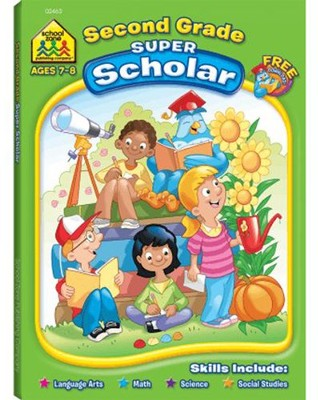Second Grade Scholar (128 Pages)   -