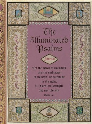 Illuminated Psalms Journal  -