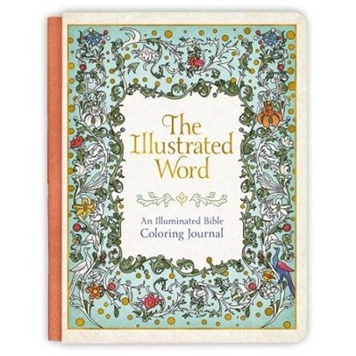 Illustrated Word Coloring Journal  -