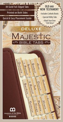 Deluxe Majestic Bible Tabs  -