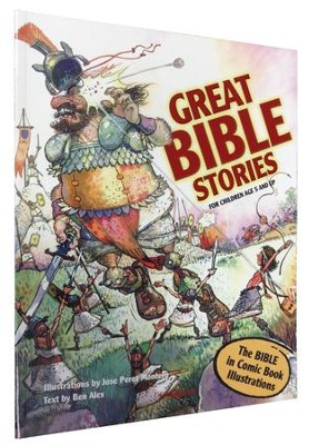 Great Bible Stories, softcover   -     By: Ben Alex
