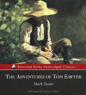 The Adventures of Tom Sawyer - unabridged audiobook on CD  -     Narrated By: Norman Dietz     By: Mark Twain