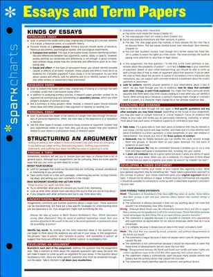 essays and term papers sparkcharts sparknotes  essays and term papers sparkcharts by sparknotes
