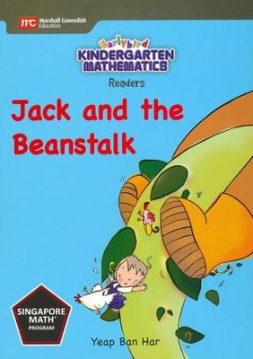 Kindergarten Math Reader: Jack and the Beanstalk   -