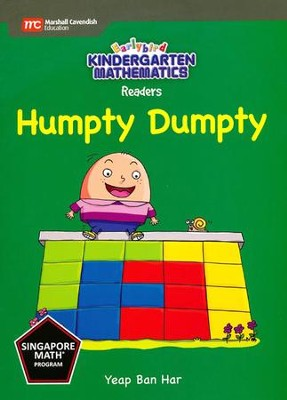 Kindergarten Math Reader: Humpty Dumpty   -