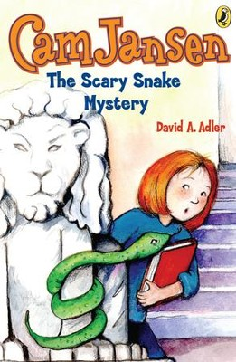 Cam Jansen: The Scary Snake Mystery #17: The Scary Snake Mystery #17 - eBook  -     By: David A. Adler     Illustrated By: Susanna Natti