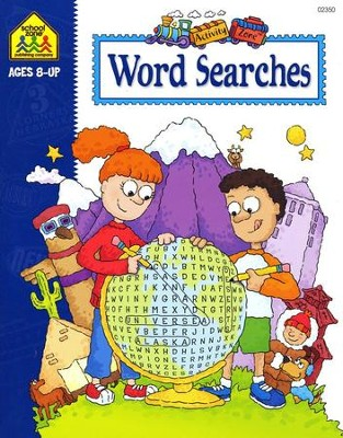 Word Searches, Ages 8 & Up   -